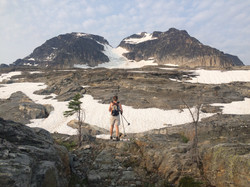 Glacier below Begbie Summit