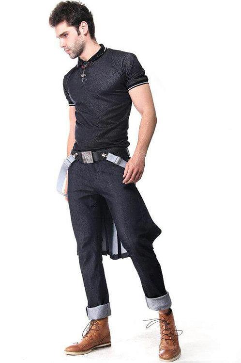 Pantalón con falda.