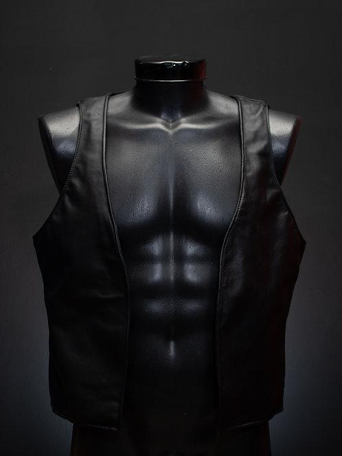 Chaleco estilo leather