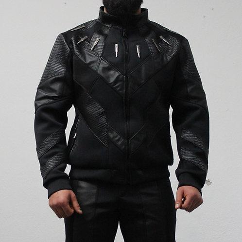 Chamarra inspirada en Black panther