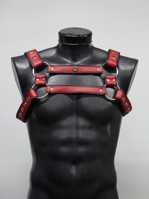 Arnés estilo bondage.