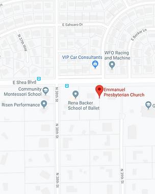 Emmanuel Presbyterian Church Location
