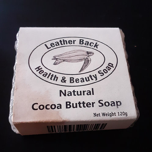 Cocoa Butter soap from St Lucia