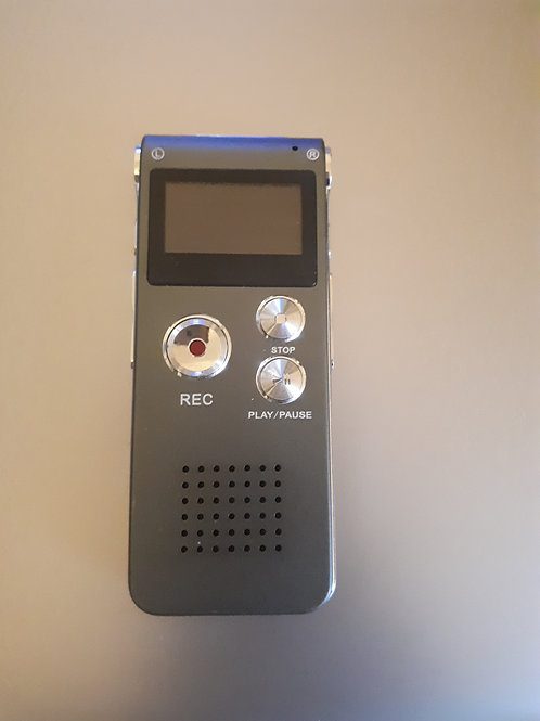 8GB Voice recorder and MP3 player
