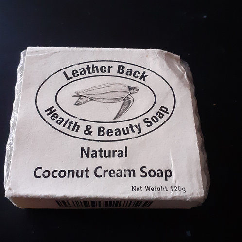 Coconut Cream soap from St Lucia