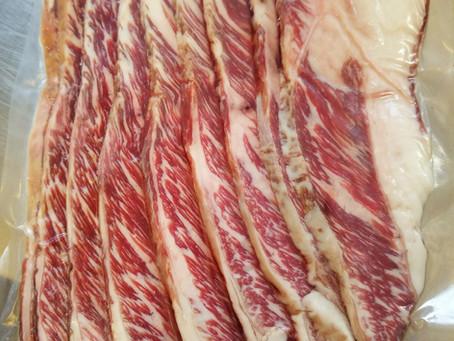 We make Beef Bacon!