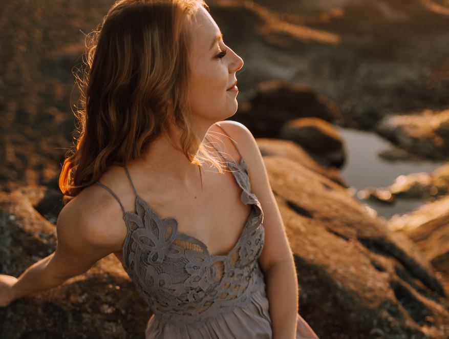 grey free people beach dress.