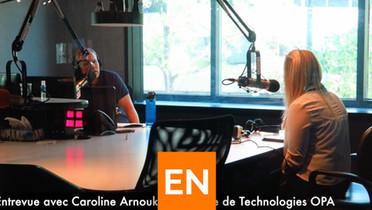 Entrevue radio - The Leslie Roberts show