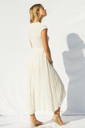 jens pirate booty white beach dress.