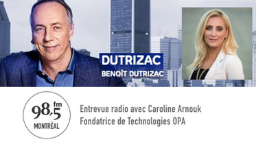 Entrevue radio - Dutrizac sur 98.5FM