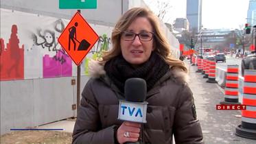 Entrevue avec Caroline Arnouk sur TVA Nouvelles
