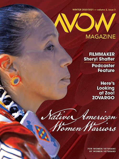 AVOW Magazine — Winter 2020/21