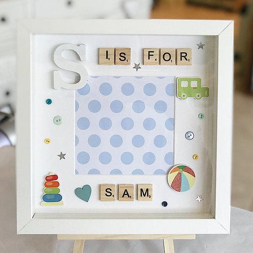 Kid's Letter Frame