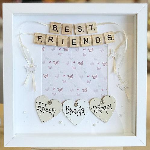 Elegant Friendship Frame (Max. 4 Names)