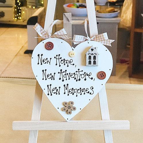 'New Home..' Plaque