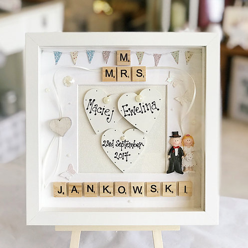 Wedding Frame with Bunting
