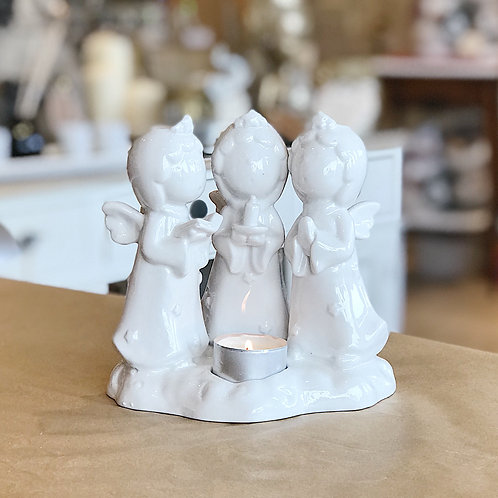 Angel Choir Candle Holder