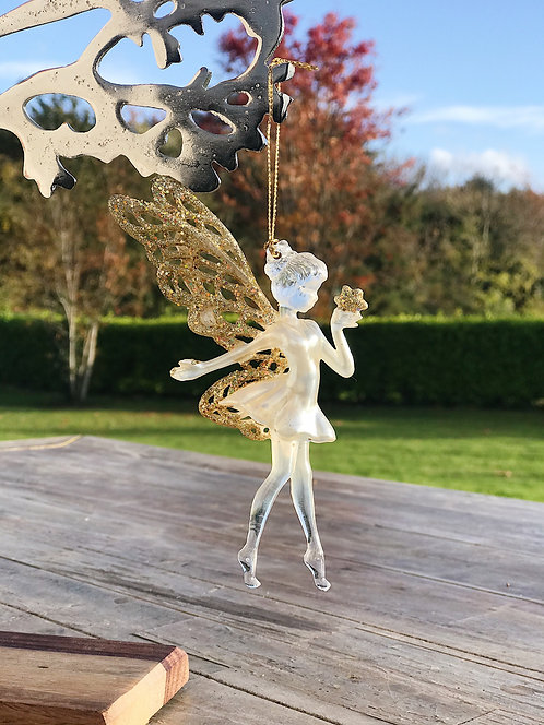 Hanging Pixie Decoration