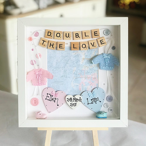 Twin Baby Frame