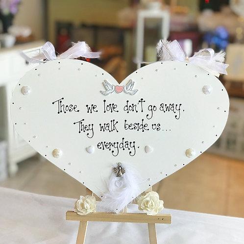 Memorial Wedding Plaque