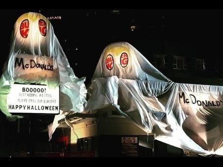 Last years Spooky Halloween Brand Winners...
