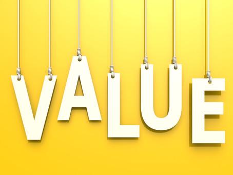 Value for Money…