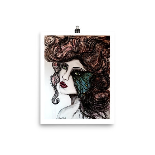 (THE SILENCE WITHIN ME) Photo paper poster