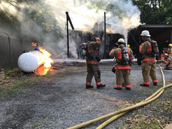 Fire Destroys Maintenance Shed and Equipment in Seneca Creek State Park