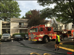 MCFRS Responds to Small Kitchen Fire