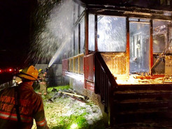 House Fire on Cabana Drive Displaces Family of Three