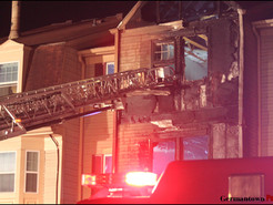 Fire Damages Germantown Townhouse, Displaces Family