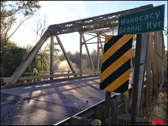 Monocacy River Bridge to be Closed Overnight for Upgrades This Weekend