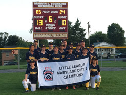 MoCo Little Leaguers Advance to State Tournament