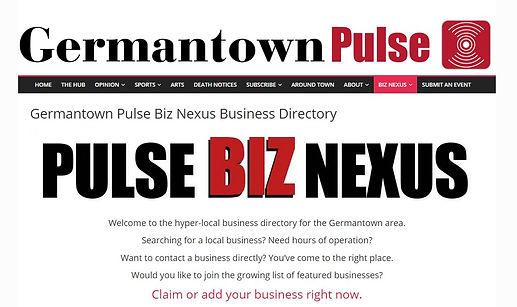 Germantown Pulse Launches the Pulse BIZ NEXUS, an Extensive Hyper