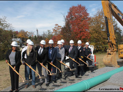 County Breaks Ground on Clarksburg Historic District Sewer Extension