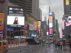 Seneca Valley Senior Featured on Times Square Billboard