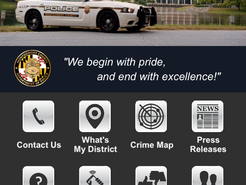 Montgomery County Police Launch Smartphone App
