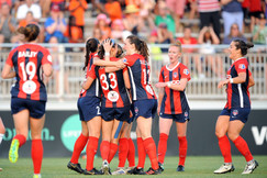 Spirit Win Fourth in Row to Take Top Spot in NWSL