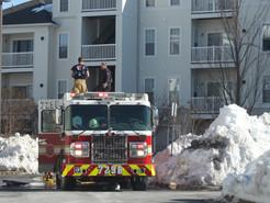 Fire Damages Germantown Apartment