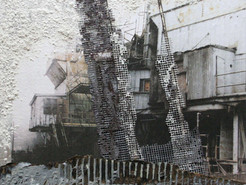 BlackRock Exhibit Features Art Created From Remnants of Decaying Structures