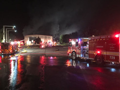 Early Morning Fire at Recycling Facility Burns for 40 Hours, Snarls Traffic
