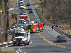 Downed Power Line Sparks Clopper Road Brush Fire