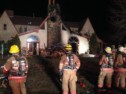 Overloaded Fireplace Causes  House Fire in Dickerson