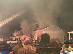 Two-Alarm Fire Damages Three Germantown Homes