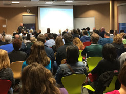 Hundreds Attend Community Meeting on Crime in Business District