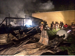Fire Destroys Clarksburg Commercial Building