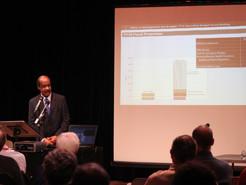 Leggett Warns of Budget Shortfall at Germantown Forum