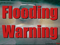 Flood Warning for Germantown Area