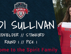 Spirit Pick Bethesda Soccer Club Alum, Andi Sullivan, as 1st Overall in NWSL Draft