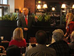 Maryland Comptroller Addresses Clarksburg Chamber of Commerce